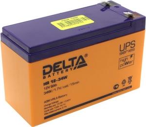 Delta Аккумулятор Delta HR12-34W (12V, 9Ah) для UPS