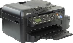 Epson L655 (A4, струйное МФУ, факс, 33 стр/мин, 4800 optimized dpi, 4краски, USB2.0, ADF, WiFi, сетевой)