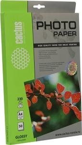 Cactus CS-GA423050 (A4, 50 листов, 230 г/м2) бумага глянцевая
