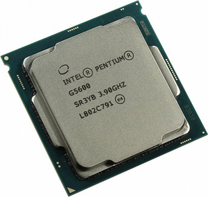 CPU Intel Pentium G5600 3.9 GHz / 2core / SVGA UHD Graphics630 / 4Mb / 54W / 8 GT / s LGA1151