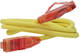 Patch Cord UTP кат.5е 0.3м Hyperline PC-LPM-UTP-RJ45-RJ45-C5e-0.3M-LSZH-YL Патч-корд