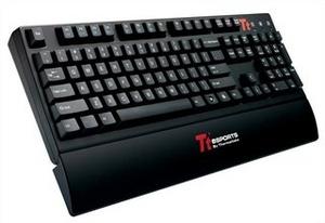 ThermalTake Клавиатура Tt eSports Meka G1 Illuminated KB-MEG005RUB USB 104КЛ, подсветка клавиш