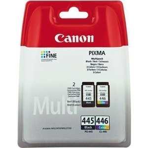 Canon Чернильница Canon Multipack PG-445+CL-446 Black&Color для PIXMAMG2440/2540