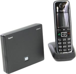 Siemens Р/телефон+А/Отв Gigaset C530A IP Black (трубка с ЖК диспл.,База)