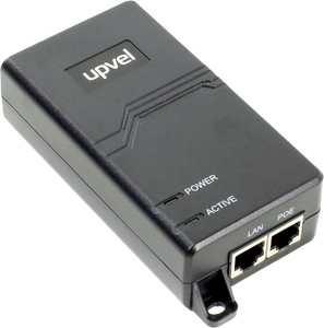 Upvel UP-105GI PoE Gigabit Injector (1UTP 10/100/1000Mbps)
