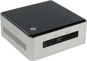 Intel NUC Kit BOXNUC5I5RYH (Core i5-5250U, 1.6-2.7 ГГц, miniHDMI, miniDP, GbLAN, M.2, 2DDR-III SODIMM)