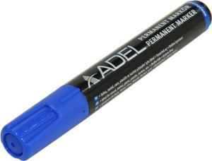 Маркер перманентный ADEL 420 1980 010 2 мм , синий, круглый (цена за 1шт, в уп-ке 12шт)