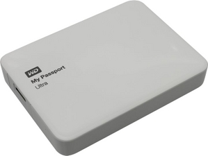 "Western Digital WD WDBNFV0030BWT-EEUE My Passport Ultra USB3.0 Drive 3Tb White 2.5"" EXT (RTL)"