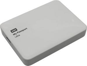 """Western Digital WD WDBNFV0030BWT-EEUE My Passport Ultra USB3.0 Drive 3Tb White 2.5"""" EXT (RTL)"""