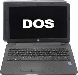 """Hewlett-Packard hp 15-ac001ur N2K26EA#ACB Cel N3050/2/500/WiFi/DOS/15.6""""/2.02 кг"""