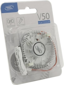 Deepcool DP-VCAL-V50 VGA Coooler V50 (2пин, 3400об/мин, 20 дБ, Al)