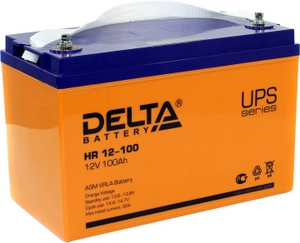 Delta Аккумулятор Delta HR12-100 (12V, 100Ah) для UPS