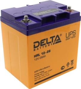 Delta Аккумулятор Delta HRL 12-26 (12V, 28Ah) для UPS