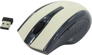 Defender Wireless Optical Mouse Accura MM-665 Grey (RTL) USB6btn+Roll беспр. 52666