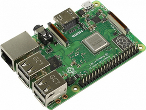Raspberry PI3 model B+ (1.4GHz, 1Gb, HDMI, GbLAN, WiFi, BT, 4xUSB, microSD, 40xGPIO)
