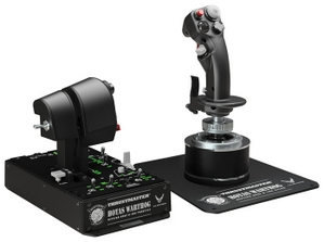Thrustmaster Джойстик ThrustMaster Hotas Warthog (джойстик + Dual Throttles + панель управления штурмовика A-10C, USB) 2960720