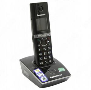 Panasonic KX-TG8051RUB Black р/телефон (трубка с ЖК диспл., DECT)