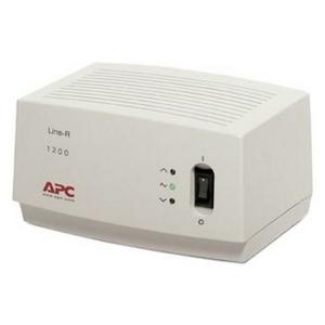 APC Стабилизатор APC Line-R LE1200-RS (вх.150 ~ 290 В, 3 розетки евро.стандарт)
