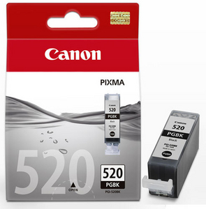 Canon Чернильница Canon PGBK-520BK Black (twin) для PIXMA IP3600/4600, MP540/620/630/980
