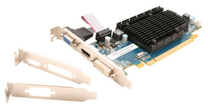 Sapphire 1Gb PCI-E DDR-3 Sapphire RADEON R5 230 (OEM) D-Sub+DVI+HDMI