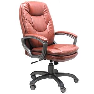 Ch-868AXSN/Brown Кресло руководителя (кож. зам)