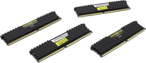 Corsair Vengeance LPX CMK16GX4M4A2666C15 DDR4 DIMM 16Gb KIT 4*4Gb PC4-21300