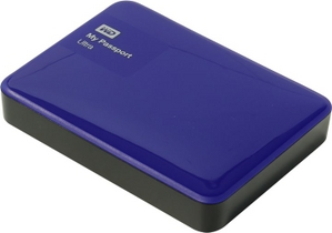 "Western Digital WD WDBNFV0020BBL-EEUE My Passport Ultra USB3.0 Drive 2TB Blue 2.5"" EXT (RTL)"
