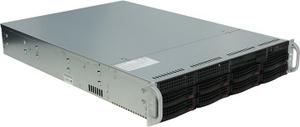 Supermicro 2U 6028R-WTR (LGA2011-3, C612, WIO, SVGA, SATA RAID, 8xHS SAS/SATA, 2xGbLAN, 16DDR4 740W HS)