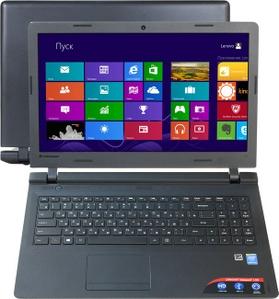 "Lenovo IdeaPad 100-15IBY 80MJ005HRK Pent N3540/4/500/DVD-RW/WiFi/Win8/15.6""/1.93 кг"