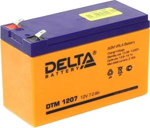 Delta Аккумулятор Delta DTM 1207 (12V, 7.2Ah) для UPS