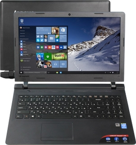 "Lenovo IdeaPad 100-15IBY 80MJ00DQRK Pent N3540/2/250/WiFi/Win10/15.6""/1.84 кг"