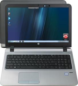"Hewlett-Packard HP ProBook 450 G3 P4P38EA#ACB i3 6100U/4/500/DVD-RW/WiFi/BT/Win7Pro/15.6""/2.26 кг"