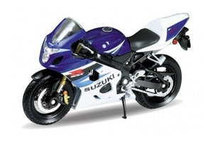 Welly 12803PW Модель 1:18 Suzuki GSX-R750