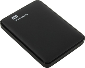 WD WDBUZG5000ABK-WESN Elements Portable 500Gb EXT (RTL) 2.5