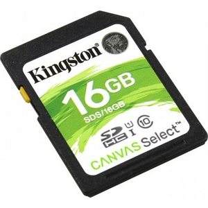 Kingston SDS / 16GB SDHC Memory Card 16Gb UHS-I U1