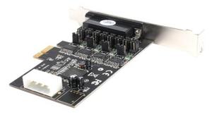 STLab I-461 (RTL) PCI-Ex1, Multi I/O, 4xCOM9M + 1xLPT25F
