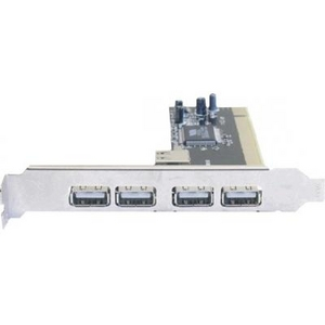 Orient DC-602 (RTL) PCI, USB2.0, 4 port-ext, 1 port-int