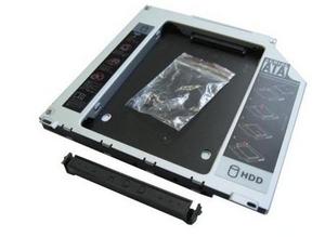 """Espada SS95U Шасси для 2.5"""" SATA HDD для установки в SATA отсек оптического привода ноутбука Slim"""