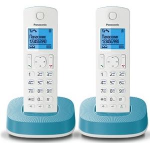 Panasonic KX-TGC312RUC р/телефон (2 трубки с ЖК диспл., DECT)