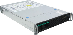 Intel 2U R2208WTTYS (LGA2011-3,C610, 4xPCI-E, SVGA, SATA RAID, 8xHotSwapSAS/SATA, 2xGbLAN, 24DDR4, 1100W)