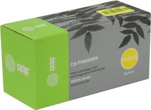 Cactus Картридж Cactus CS-PH6000BK Black для Xerox Phaser 6000/6010