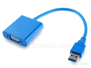 Telecom TA710 USB 3.0 to VGA Adapter