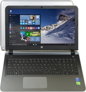 "Hewlett-Packard HP Pavilion 15-ab205ur P0S29EA#ACB i5 5200U/4/500/DVD-RW/940M/WiFi/BT/Win10/15.6""/2.2 кг"