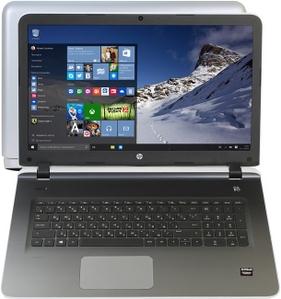 "Hewlett-Packard HP Pavilion 17-g158ur P0H19EA#ACB A10-8700P/8/1ТбSSHD/DVD-RW/R7 M360/WiFi/BT/Win10/17.3""/2.72 кг"