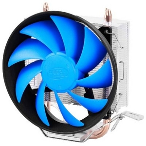 Deepcool DP-MCH2-GMX200T GAMMAXX 200T (4пин, 775/1155/AM2-FM2, 900-1600об/мин, 17.8-26.1 дБ, Al+тепл.трубки)