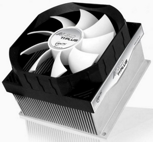 Arctic Cooling Alpine 11 PLUS Cooler (4пин, 775/1155, 600-2000об/мин, 23.5дБ, Al)
