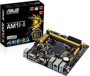 Asus AM1M-A (RTL) SocketAM1 PCI-E Dsub+DVI+HDMI GbLAN SATA MicroATX 2DDR-III