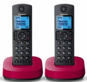 Panasonic KX-TGC312RUR р/телефон (2 трубки с ЖК диспл., DECT)