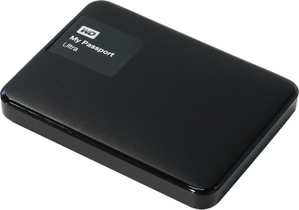 "Western Digital WD WDBDDE0010BBK-EEUE My Passport Ultra USB3.0 Drive 1Tb Black 2.5"" EXT (RTL)"