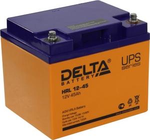 Delta Аккумулятор Delta HRL12-45 (12V, 45Ah) для UPS
